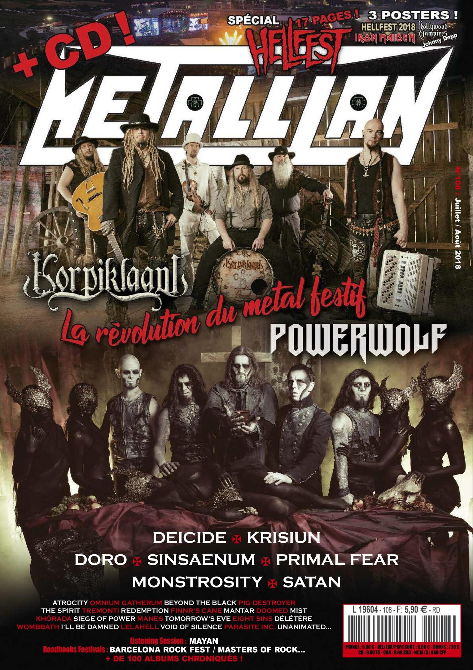 Metallian – Août-septembre 2018