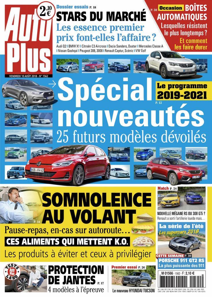 Auto Plus France – 10 Août 2018