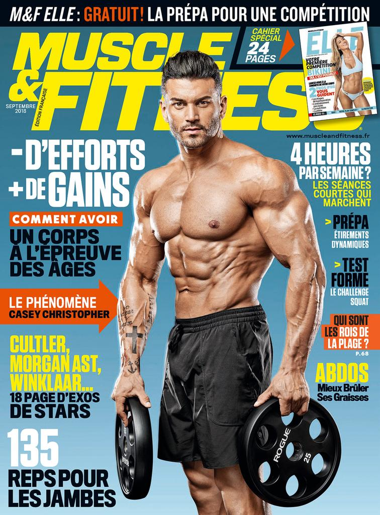 Muscle & Fitness France – Septembre 2018