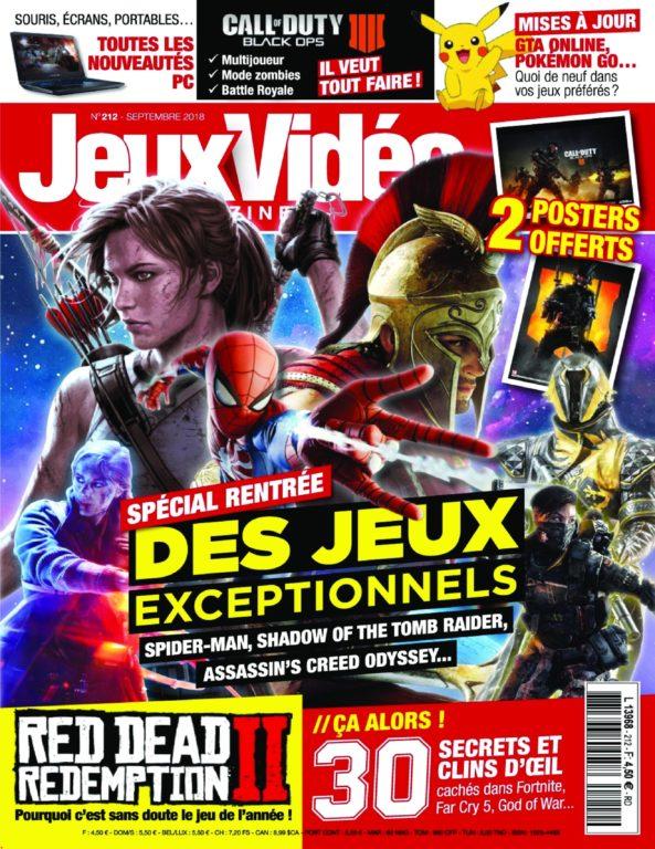 Jeux Vidéo Magazine – Août 2018
