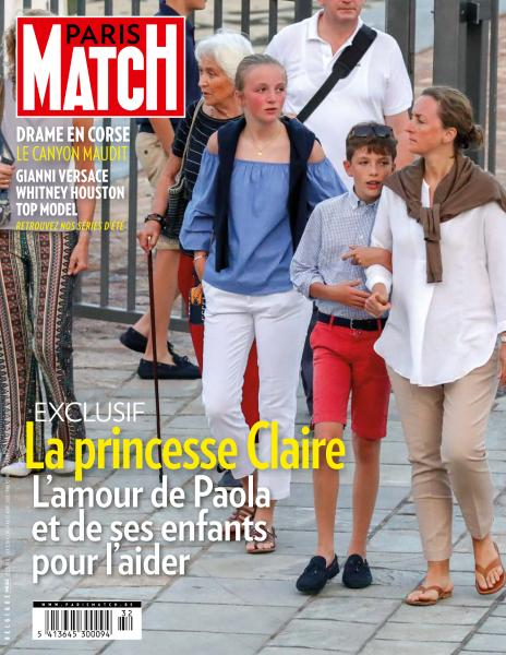 Paris Match Belgique – 9 Août 2018