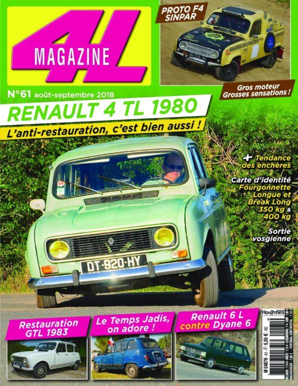 4L Magazine – Août 2018