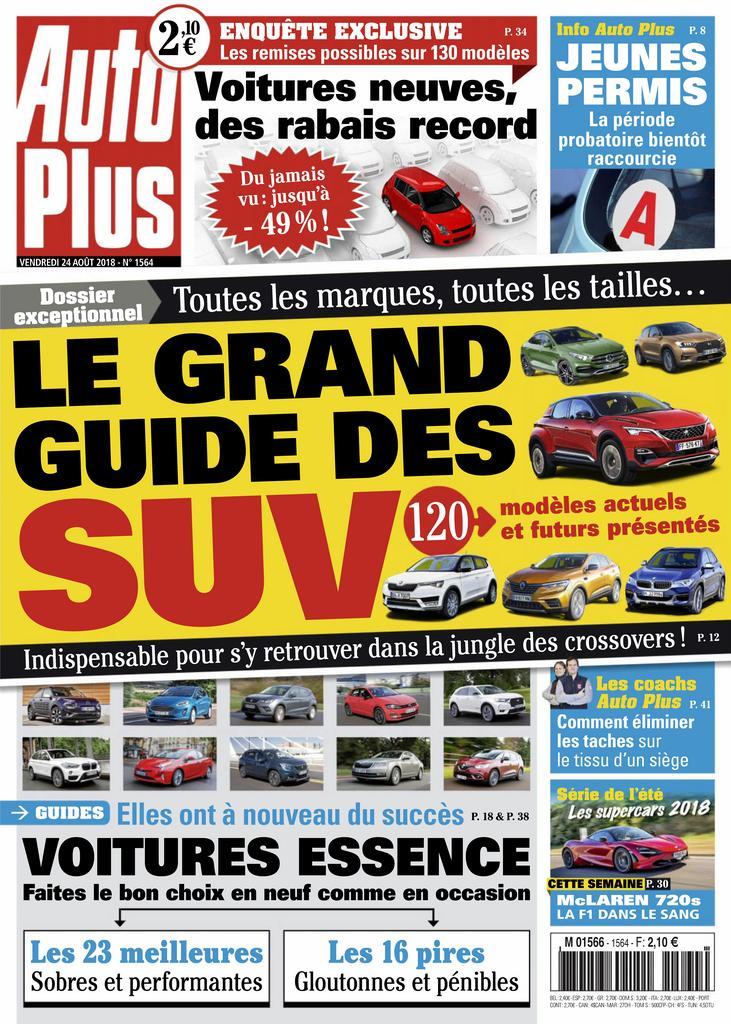 Auto Plus France – 24 Août 2018