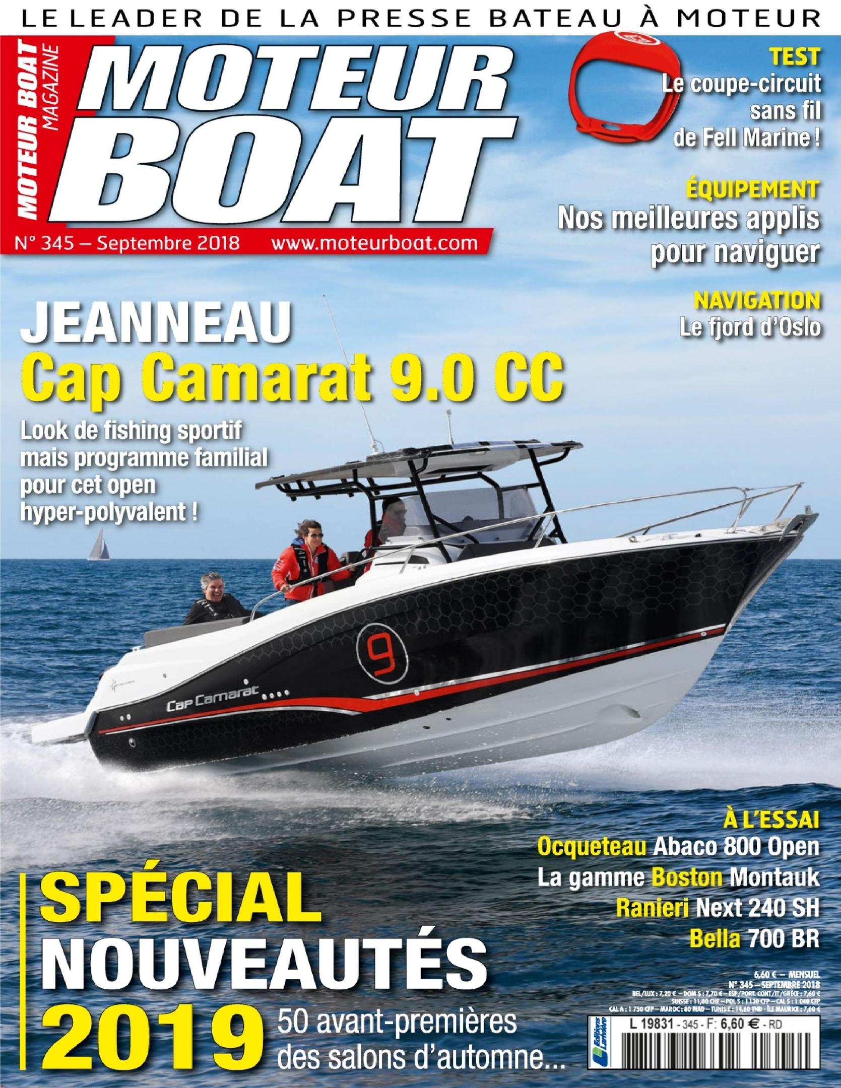 Moteur Boat – Septembre 2018
