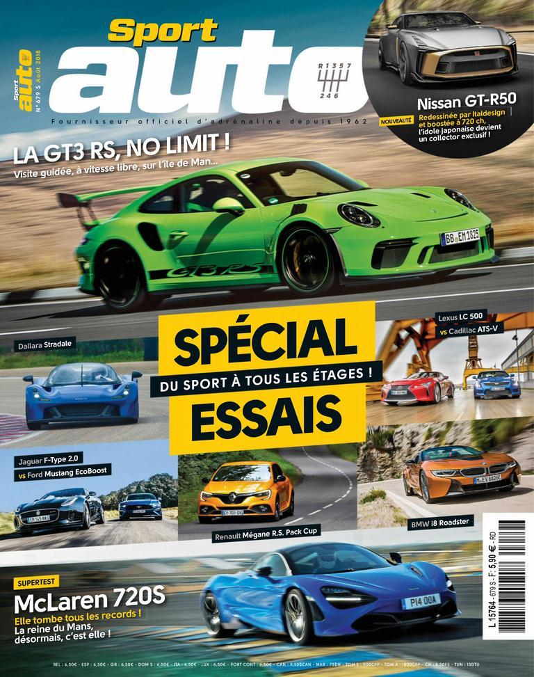 Sport Auto France – Août 2018