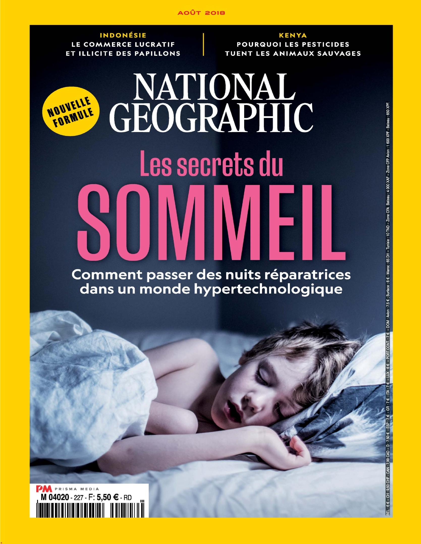 National Geographic France – Septembre 2018