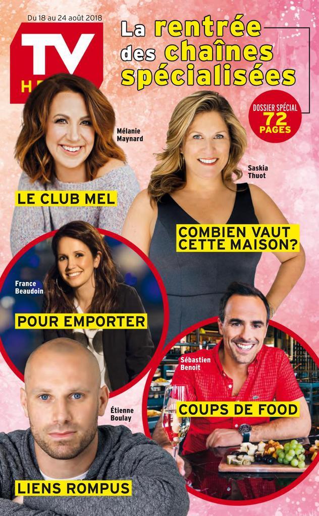 TV Hebdo – 18 Août 2018
