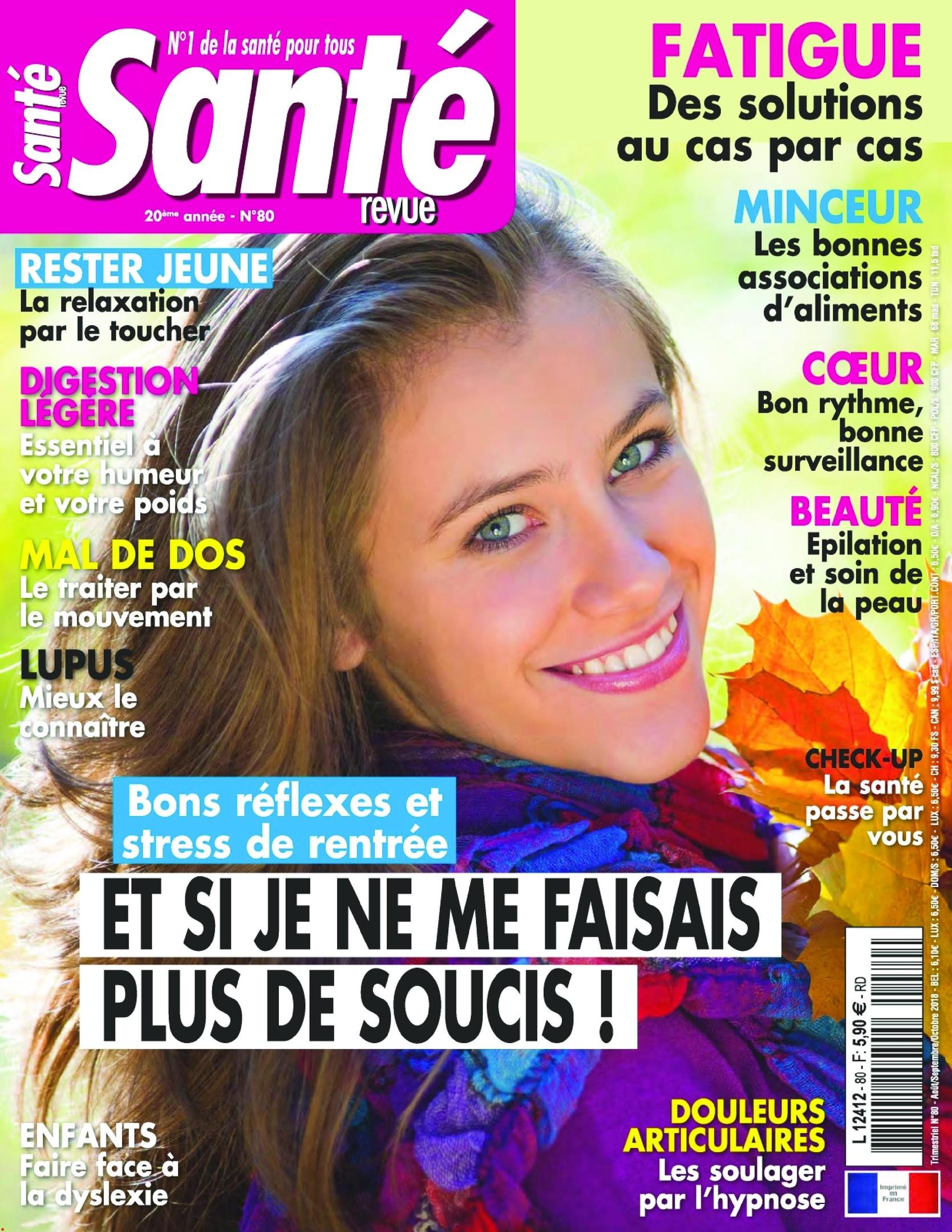 Santé Revue – Août 2018