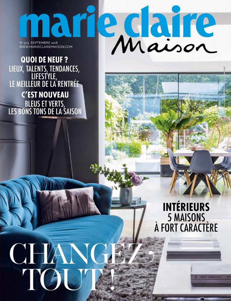 Marie Claire Maison France – Septembre 2018