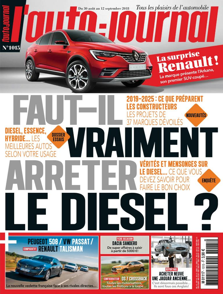 L'Auto-Journal – 30 Août 2018