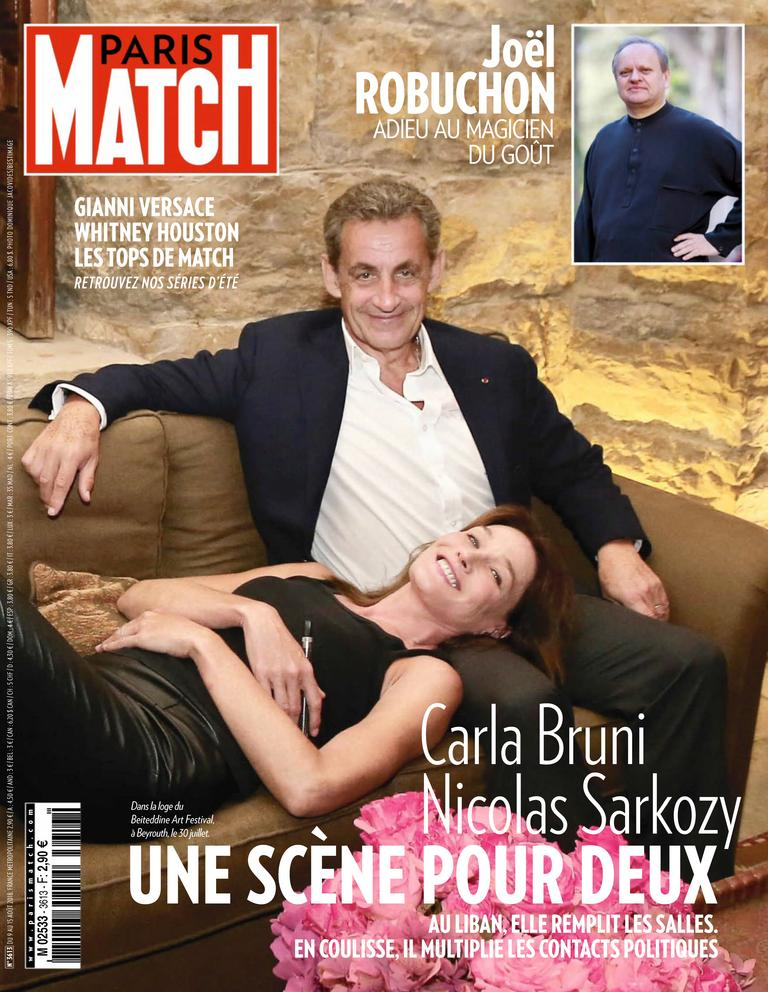 Paris Match – 09 Août 2018