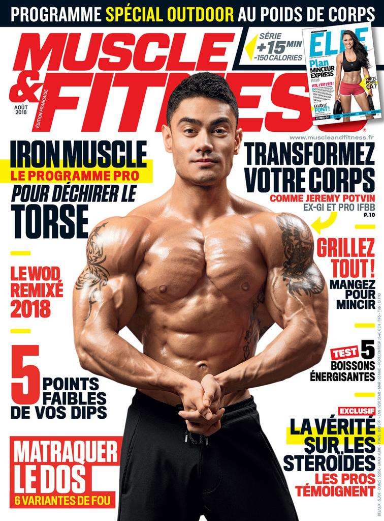 Muscle & Fitness France – Août 2018