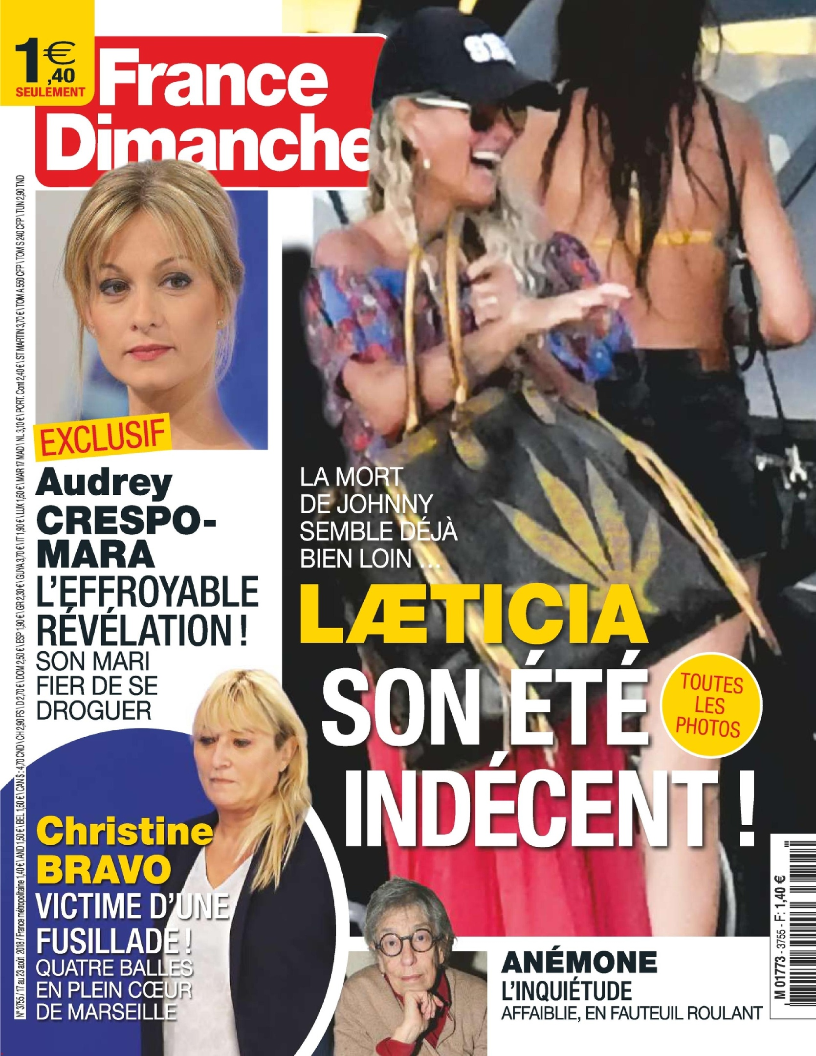 France Dimanche – 17 Août 2018