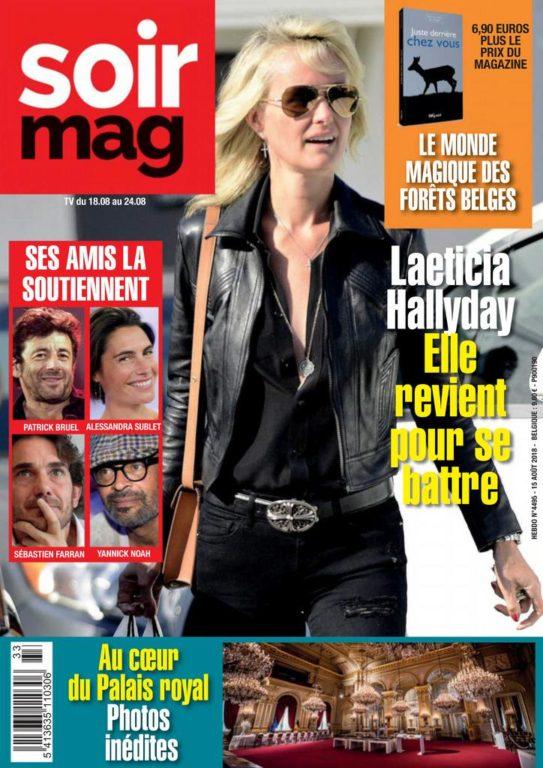 Le Soir Magazine – 18 Août 2018