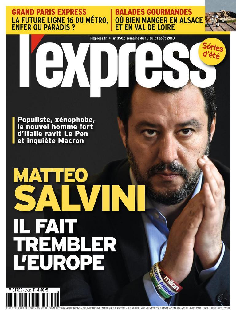 L'Express – 13 Août 2018