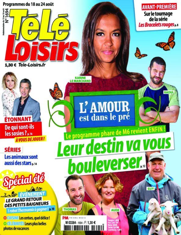 Télé Loisirs – 13 Août 2018