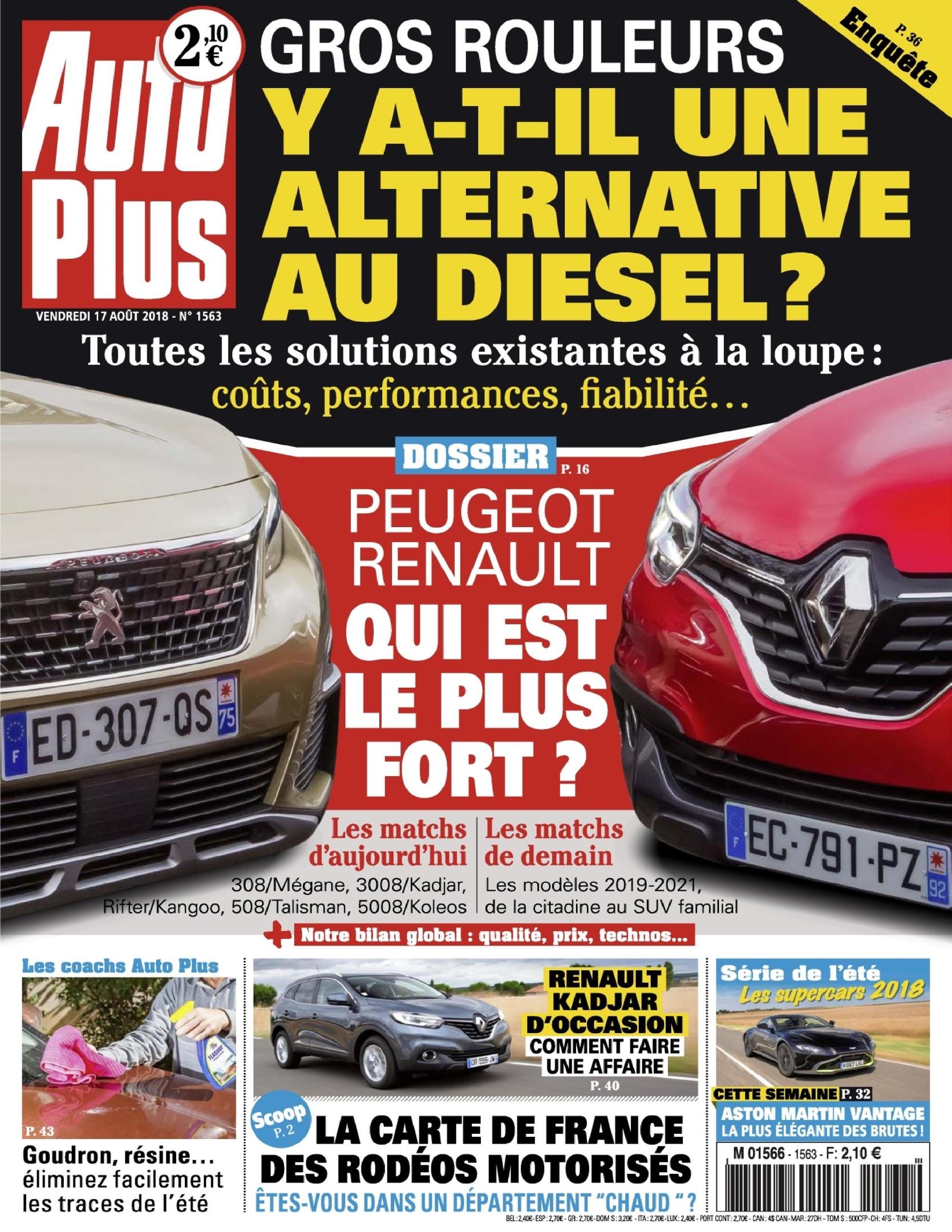 Auto Plus France – 17 Août 2018