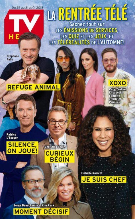 TV Hebdo – 25 Août 2018