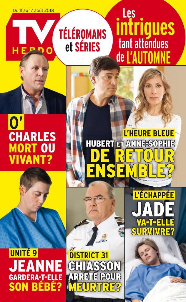 TV Hebdo – 11 Août 2018