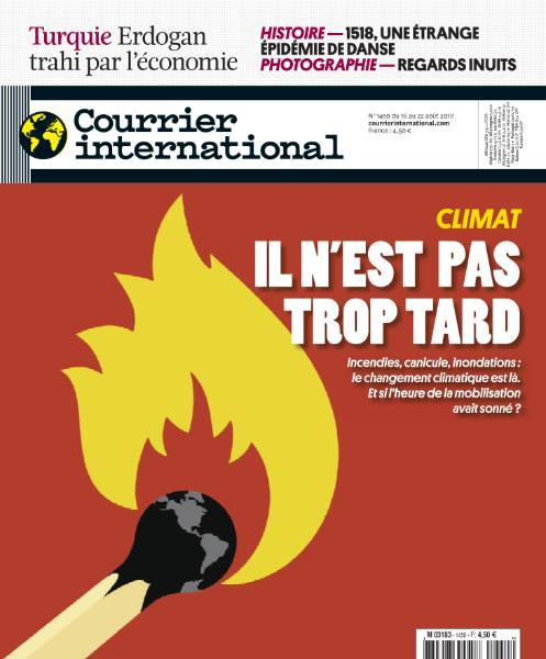 Courrier International – 16 Août 2018