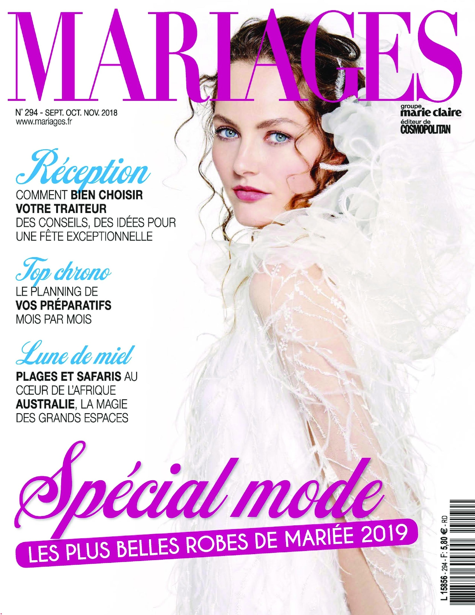 Mariages – Août 2018