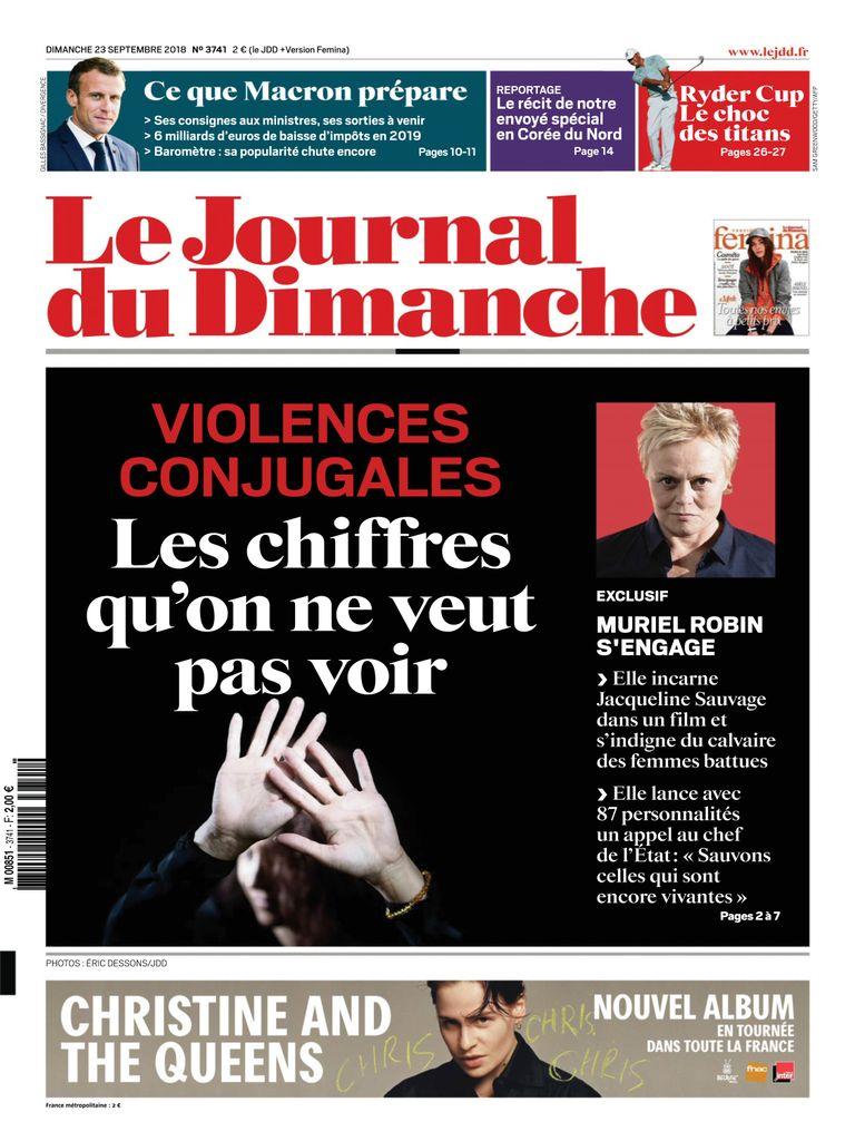 Le Journal Du Dimanche – 23 Septembre 2018