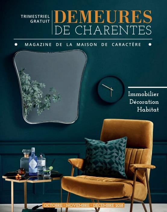 Demeures De Charentes – Octobre-Décembre 2018