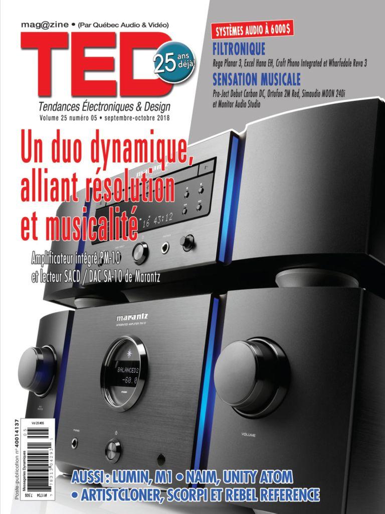 Magazine TED Par QA&V – Septembre 01, 2018