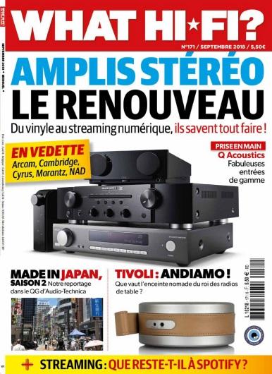 What Hi-Fi France – Septembre 2018