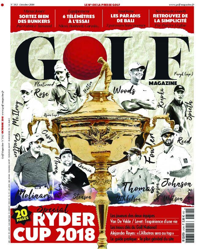 Golf Magazine France – Octobre 2018