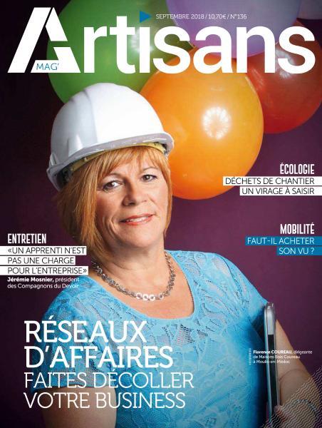 Artisans Mag – Septembre 2018