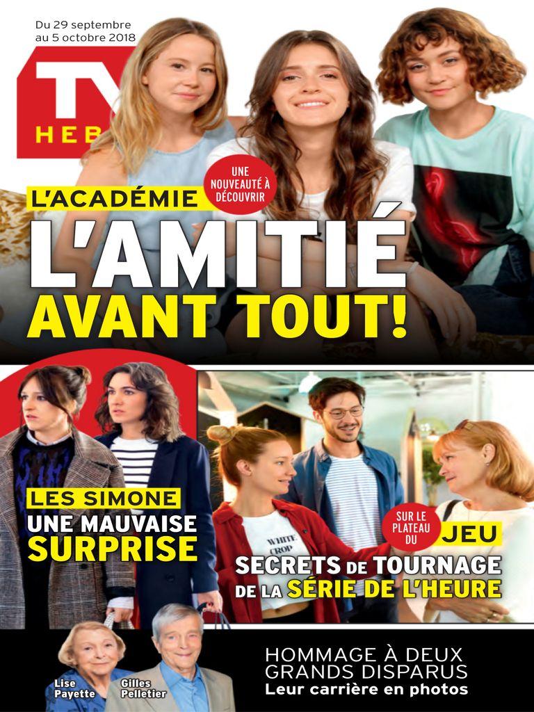 TV Hebdo – 29 Septembre 2018