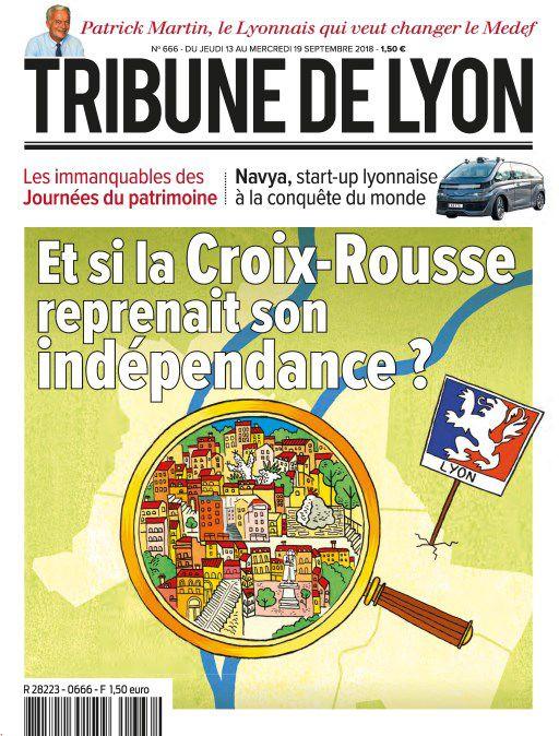 Tribune De Lyon – 13 Septembre 2018