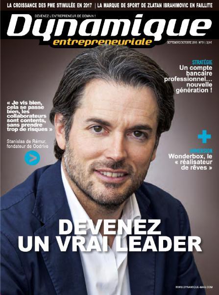 Dynamique Entrepreneuriale – Septembre-Octobre 2018
