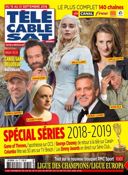 Télécâble Sat Hebdo – 10 Septembre 2018