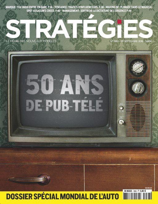 Stratégies – 27 Septembre 2018