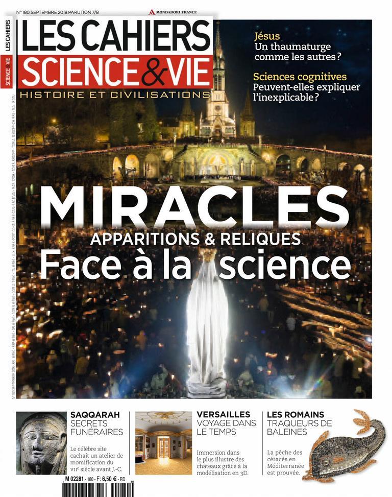 Les Cahiers De Science & Vie – Septembre 2018
