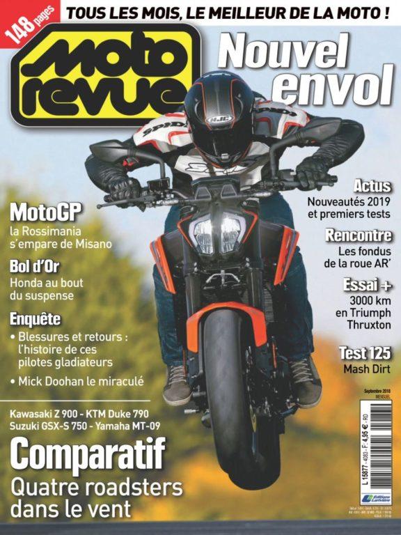 Moto Revue – 01 Septembre 2018