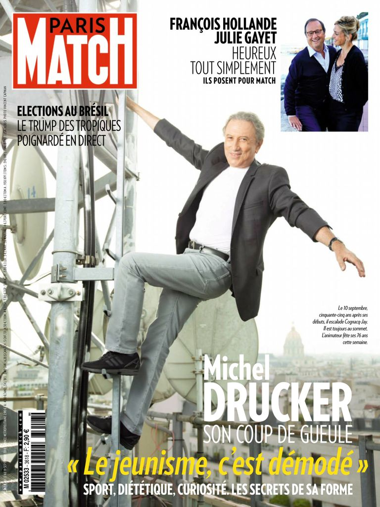 Paris Match – 12 Septembre 2018