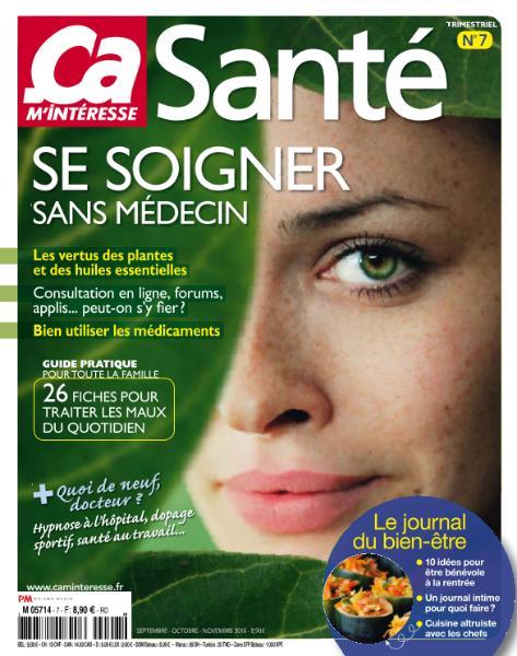 Ça M'Intéresse Hors-Série Santé – Septembre-Novembre 2018