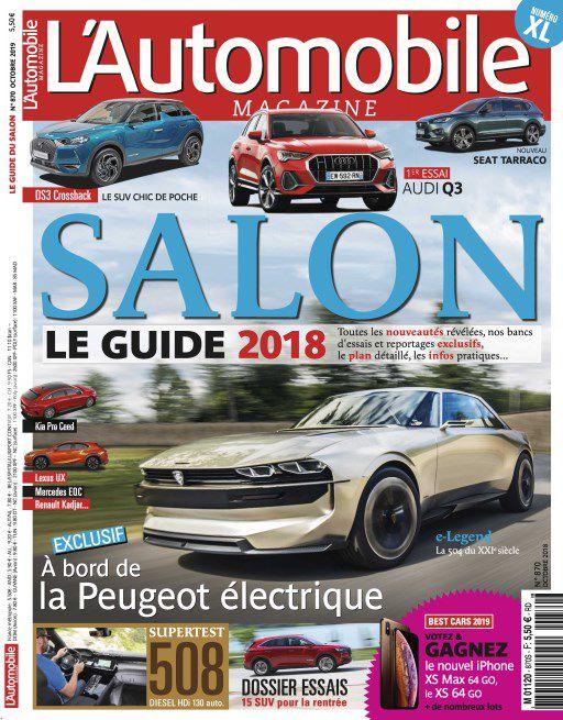 L'Automobile Magazine – Octobre 2018