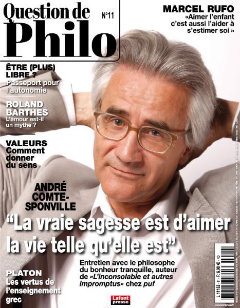 Question De Philosophie – Septembre-Novembre 2018
