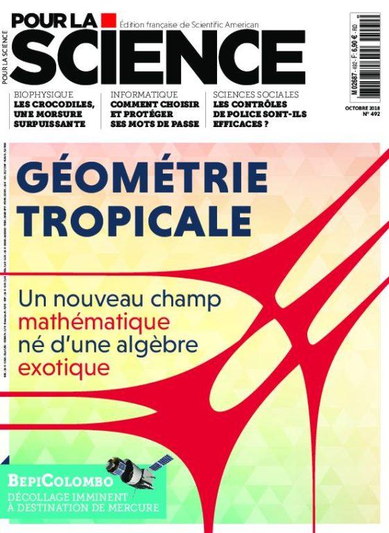 Pour La Science – Octobre 2018