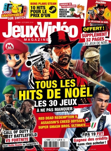 Jeux Vidéo Magazine – Octobre 2018