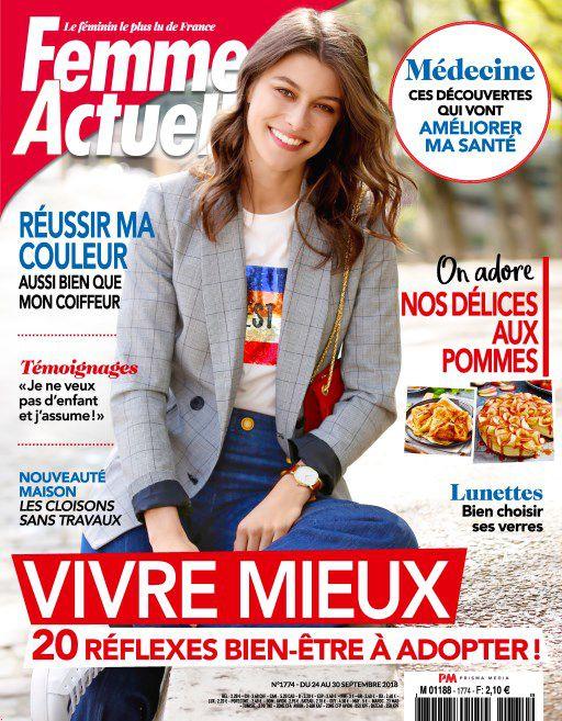Femme Actuelle – 24 Septembre 2018