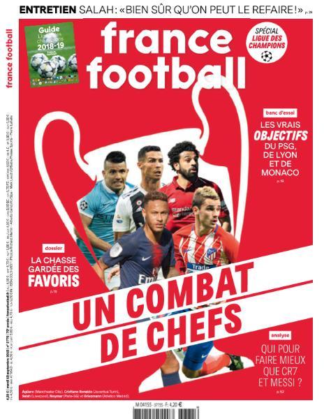 France Football – 18 Septembre 2018