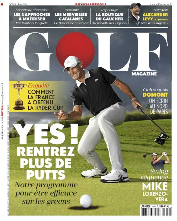 Golf Magazine France – Août 2018
