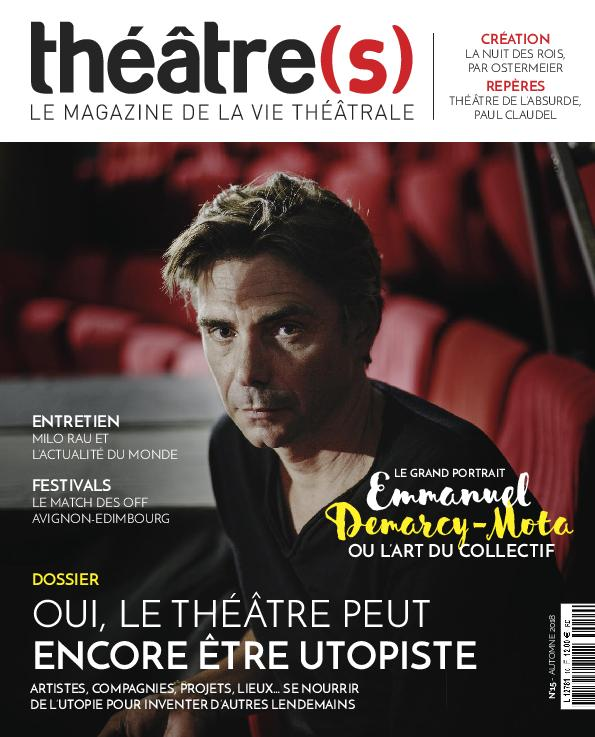 Théâtre(s) Magazine – Septembre 2018