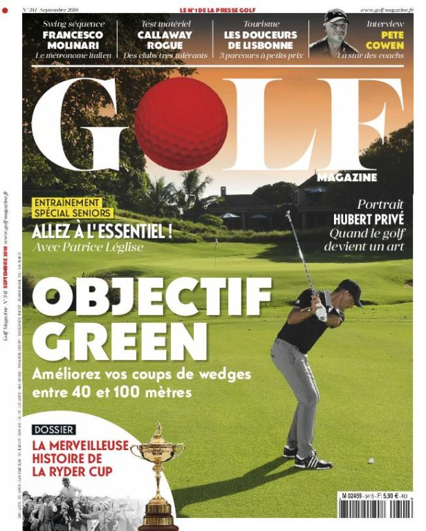 Golf Magazine France – Septembre 2018
