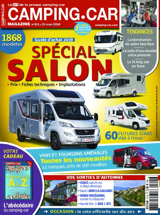 Camping-Car Magazine – Octobre 2018